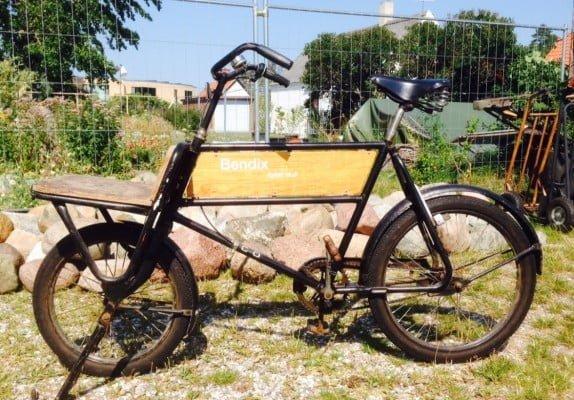 Hans Bendix's (nu private) budcykel nr. 01.